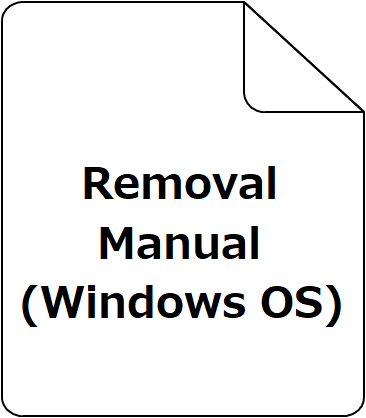 Removal Manual(Windows OS)