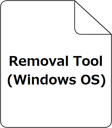 Removal Tool(Windows OS)
