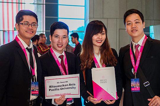 APU Team 4G Grabs Second Place at Hult Prize Kuala Lumpur