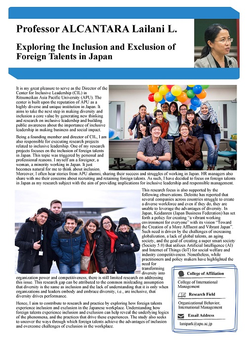 Exploring the Inclusion and Exclusion of Foreign Talents in Japan