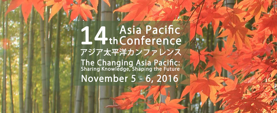 14th Asia Pacific Conference